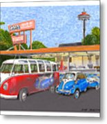 Dicks Drive In Seattle Metal Print