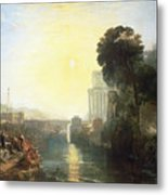 Dido Building Carthage Metal Print