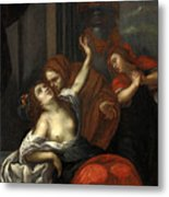 Dido Wounded Metal Print