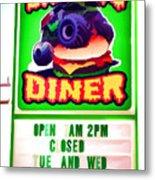 Digger's Diner Metal Print