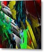 Digital Abstraction 070611 Metal Print