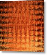 Digital Copper Plate Abstract Metal Print
