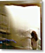 Digital Doorway Metal Print