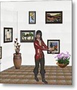 Digital Exhibition 21 Metal Print