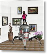 Digital Exhibition 421 Metal Print