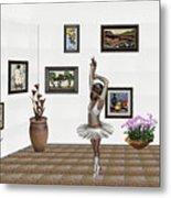 Digital Exhibition_my Dancing Girl Metal Print