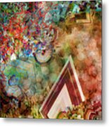 Dimensional Journey Metal Print