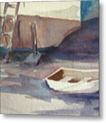 Dinghy Metal Print