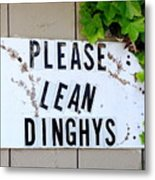 Dinghy Do's Metal Print