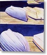 Dinghy Lines Metal Print