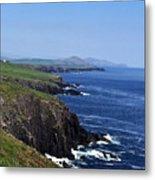 Dingle Coast Near Fahan Ireland Metal Print