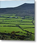 Dingle Peninsula Panorama Ireland Metal Print