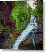 Dingmans Falls Metal Print