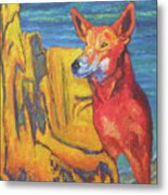Dingo Metal Print