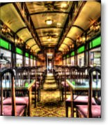 Dining In Style Metal Print