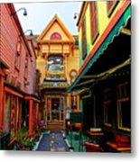 Dinks Alley Metal Print