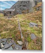 Dinorwic Quarry Ruins Metal Print