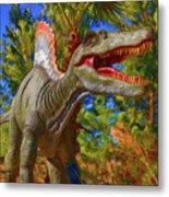 Dinosaur 12 Metal Print