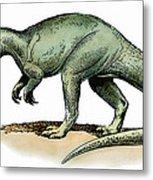 Dinosaur: Allosaurus Metal Print
