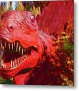 Dinosaurs 8 Metal Print