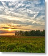 Dintelse Gorzen Sunset Metal Print