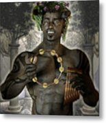 Dionysus God Of Grape Metal Print