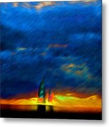 Directionless Familiar II Metal Print