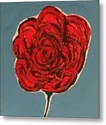 Dirty Rose Metal Print
