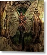 Disappointed Fairy 2 Metal Print