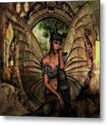 Disappointed Fairy Metal Print