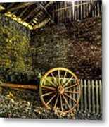 Discarded Cart Metal Print