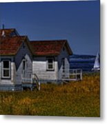Discovery Park Homes Metal Print