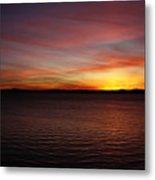 Discovery Park Sunset 6 Metal Print