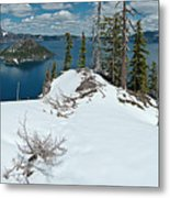 Discovery Point Panorama Metal Print