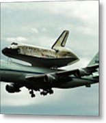 Discovery Riding Home Metal Print