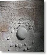 Discovery With White Stones Metal Print