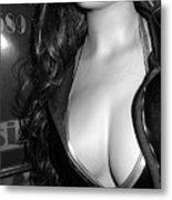 Discreet Lady 2  Metal Print
