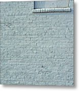 Discussion Of The Grey Wall Metal Print