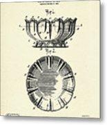 Dish-1900 Metal Print