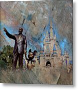 Disney World Metal Print