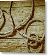 Dispatched Ropes And Voyages Metal Print