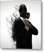 Dissolution Of Man Metal Print