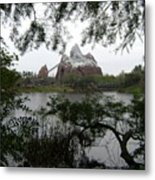 Distant Everest Metal Print
