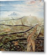 Distant Journey Metal Print