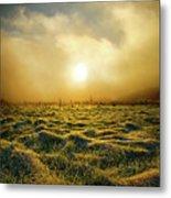 Distant Mist Horizon Metal Print
