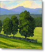 Distant Mountains Metal Print