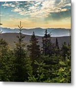 Distant Mountains To The East Metal Print