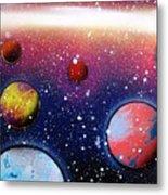 Distant Planets Metal Print