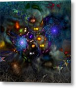 Distant Realms Of The Imagination Metal Print