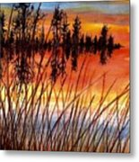 Distant Reflections Metal Print